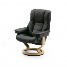 Stressless Mayfair Medium Chair With Classic Base Paloma Leather