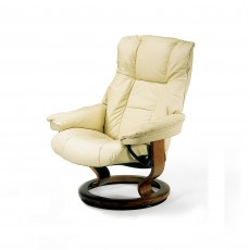 Stressless Mayfair Medium Chair With Classic Base Noblesse Leather