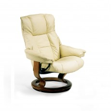 Stressless Mayfair Large Chair With Classic Base Batick Leather