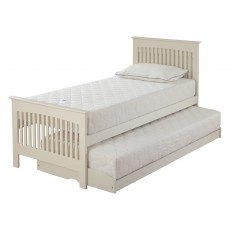 Juno White Painted Single (90cm) Guest Bed