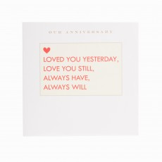 Always Have, Always Will Anniversary Greeting Card