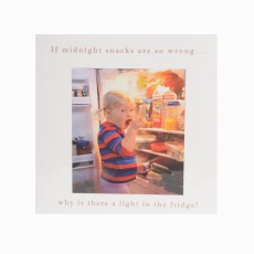 Midnight Snacks Greeting Card