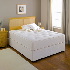 King Koil Posture Elite 1200 Pocket King (150cm) Platform Top Divan Set