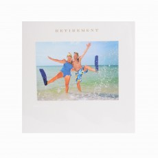 Couple In Flippers Greeting Card