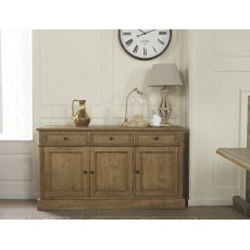 San Agosto Spruce Wood Wide Sideboard