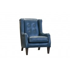 Alexander & James Padova Wing Chair Leather