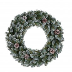 Empress 60cm Green Spruce Wreath