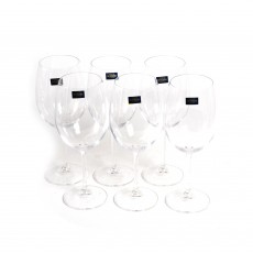 Bohemia Gastro Set of 6 450ml Wine Glasses