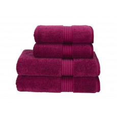 Christy Supreme Raspberry Hand Towel