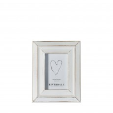Riverdale Houston White 4'' x 6'' Photo Frame