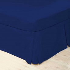 Belledorm 200 Thread Count King Valance Cobalt