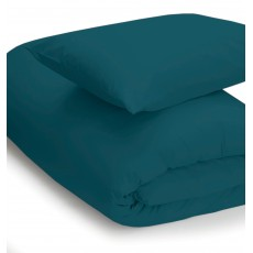 Belledorm 200 Thread Count King Duvet Cover Jade