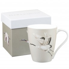 Churchill Harlequin ''Cranes In Flight'' Platinum Mug