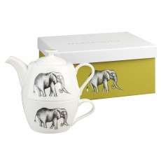 Churchill Harlequin Savanna Teacup & Teapot