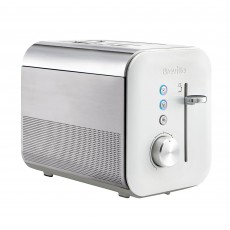 Breville High Gloss Collection White 2 Slice Toaster