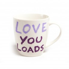 Jamie Oliver Cheeky ''Love You Loads'' Mug