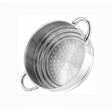 Stellar 1000 Steamer/Colander With Long Handle
