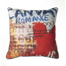 Scatter Box Paul Delaney Canvas Romance Small Cushion
