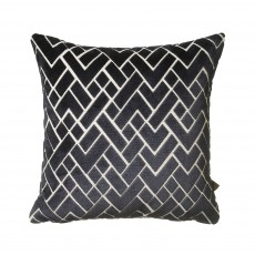 Scatter Box Fracture Navy Cushion