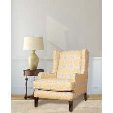 Hillary Wing Chair Fabric C