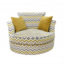 Kiely Swivel Chair Fabric D