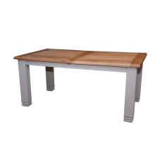 Aquitane Weathered Oak 6-8 Person Extending Dining Table