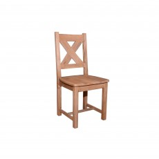 Triomphe Weathered Oak Dining Chair