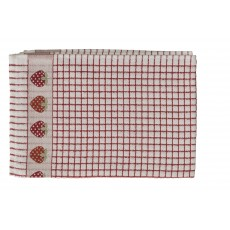 Polidri Strawberry Jacquard Tea Towel