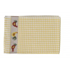 Polidri Chicken Jacquard Tea Towel