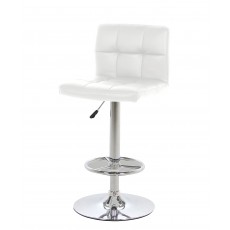 Hot Bar Stool White