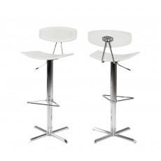 Blaise Bar Stool White