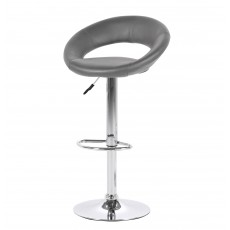 Plump Bar Stool Grey