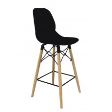 Mask Bar Stool Black