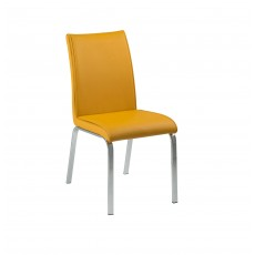 Leonora Curry PU Leather Dining Chair