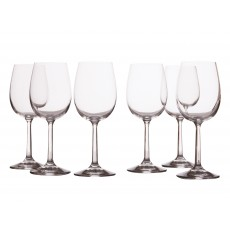 Maxwell & Williams Casa Domani Evolve Set Of 6 Red Wine Glasses