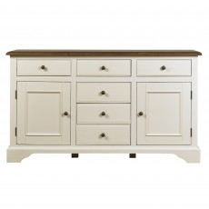 Paradis Painted Wide Sideboard
