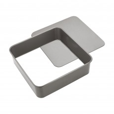 Judge 25x25cm Loose Base Square Cake Tin