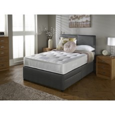 Myer's Langford Ortho Deluxe 3000 King (150cm) Platform Top 2 Drawer Divan Set