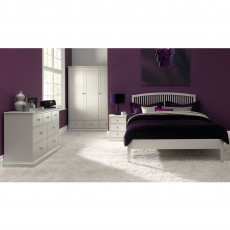 Julie Painted Double (135cm) Slatted Bedstead