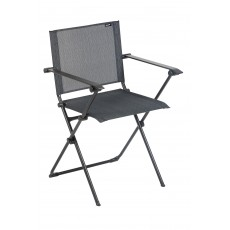 Lafuma Anytime Premium Black Foldable Armchair