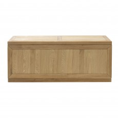 Athens Oak Blanket Box