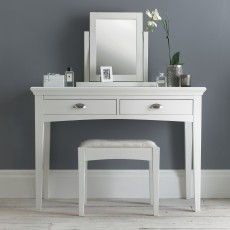Lipari White Painted Vanity Mirror
