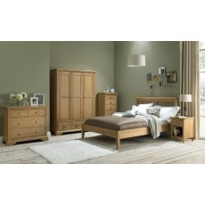Lipari Oak Double Wardrobe