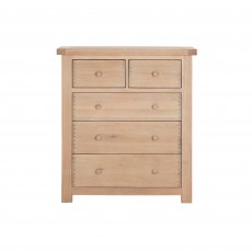 Sapphire Oak 3 + 2 Chest of Drawers