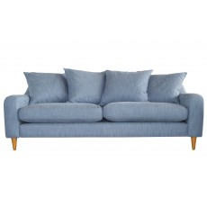 Matilda 4+ Seater Sofa Scatter Back Fabric B