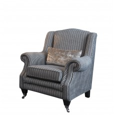 Duchess Wing Chair Fabric F