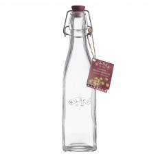 Kilner 250ml/0.25L Square Clip Top Bottle With Lock Lid