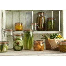 Kilner Round 350ml/0.35L Clip Top Jar