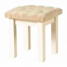 bedroom stools. Benedict Zen Creme Oak Trim Bedroom Stool c w Upholstered Seat Pad  Stools Chairs Furniture Meubles