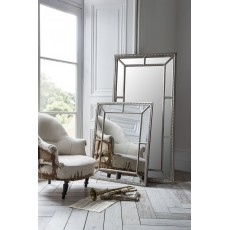 Gallery Lawson Pewter Mirror